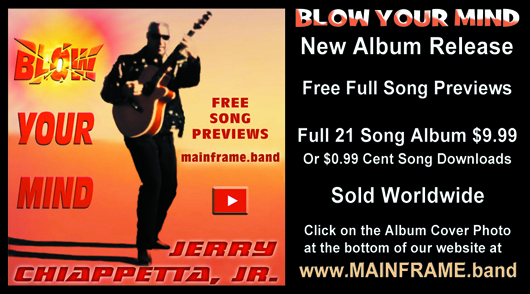 You Can Also Preview And Purchase The BLOW YOUR MIND Album At MAINFRAMEband