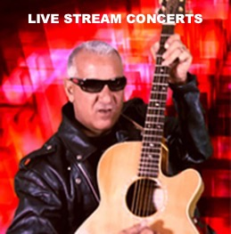 live Stream Concerts by Jerry Chiappetta Jr